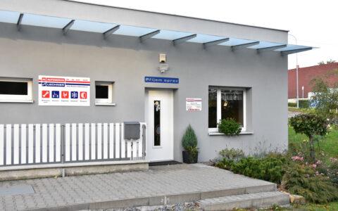 Kancelář autoservisu v Náměšti nad Oslavou